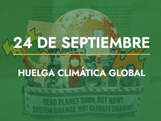 Llama Fridays For Future a la Huelga Climática Global