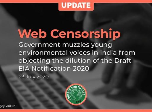 """Califica la policia a @FFFIndia como """"ilegal y cometer actos de terrorismo"""" y cierra su web"""