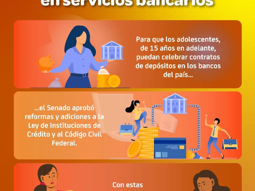 La juventud ya puede utilizar los servicios bancarios