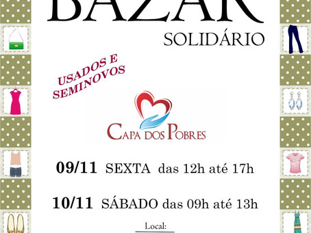 Bazar Solidário