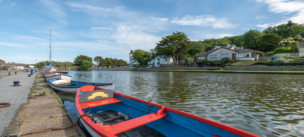 Bude Canal Row Boats