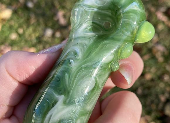 Green + White Bang Bang