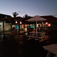 A beautiful view of our main building's deck.