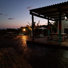 a beautiful view of our deck