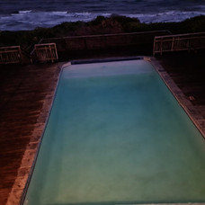 A view of our swimming pool.