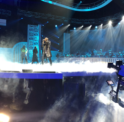 pre-filming for BET's Soul Train Awards (Las Vegas, NV)