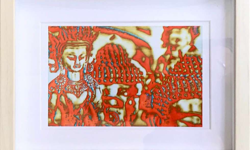 Psychedelic Buddhas by Lynn Griffin-Roberts
