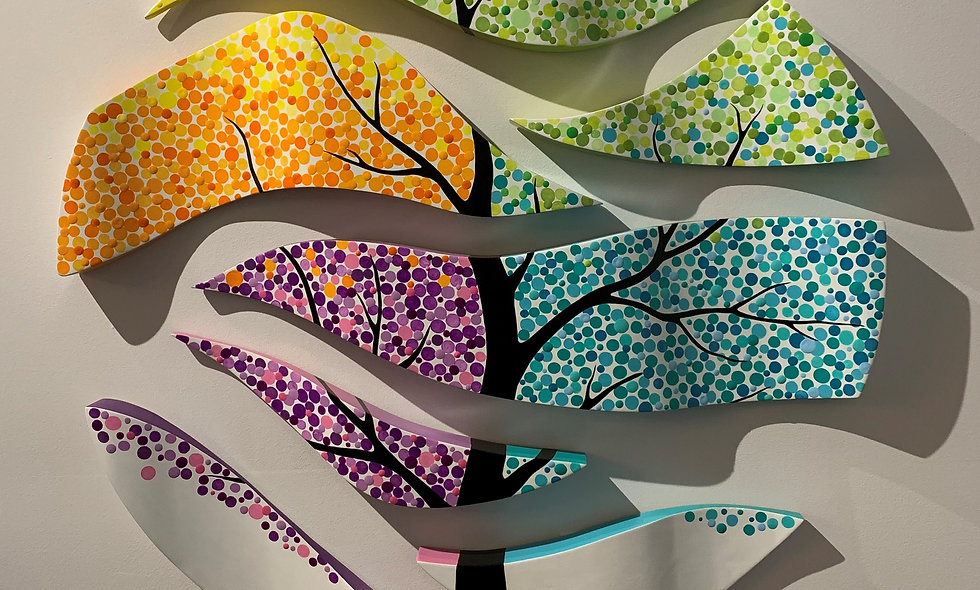 Colors in the Tree by Sol Florez