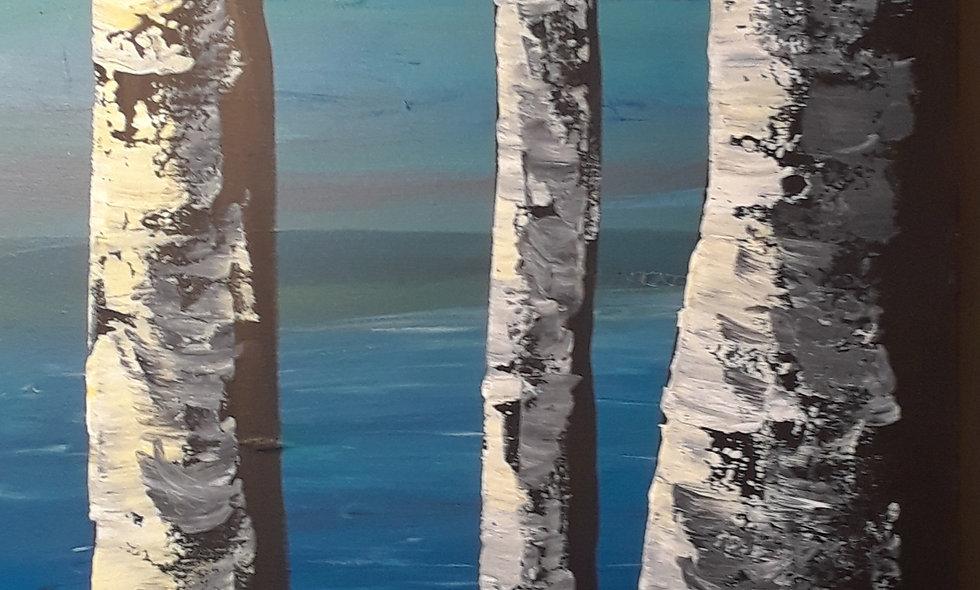 Accross the Lake by Robin Antoinette