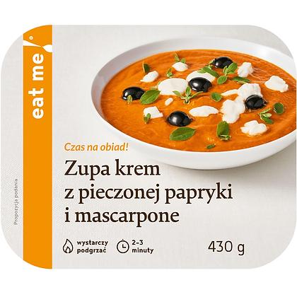Zupa krem z pieczonej papryki i mascarpone