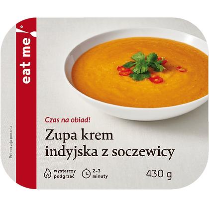 Zupa krem indyjska z soczewicy
