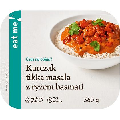 Kurczak tikka masala z ryżem basmati