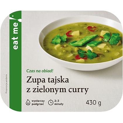 Zupa tajska z zielonym curry