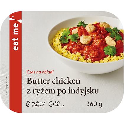 Butter chicken z ryżem po indyjsku