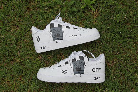 """Air Force 1 """"Off-White Doodle Bob"""""""