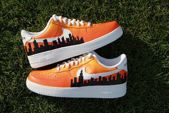 "Air Force 1 ""Orange Skyline"""