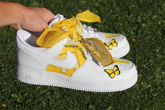 "Air Force 1 ""VLONE Yellow Bandana"""