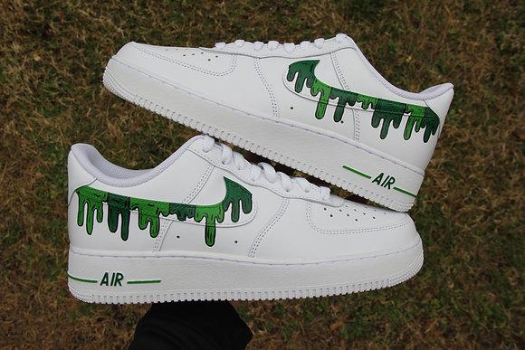 "Air Force 1 ""Alternative Drip Green Black"""