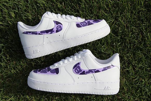 "Air Force 1 ""Purple Bape"""