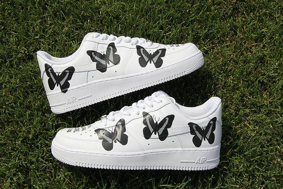 "Air Force 1 ""Black Butterfly X Anti-Social"""