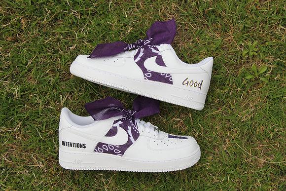 "Air Force 1 ""VLONE Bandana Purple"""