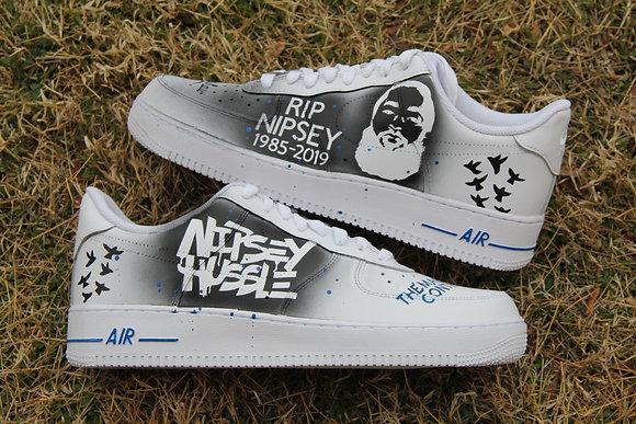 """Air Force 1 """"Nipsey Hussle"""""""