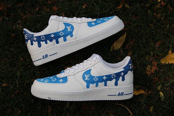 "Air Force 1 ""Icy Blue Drip"""