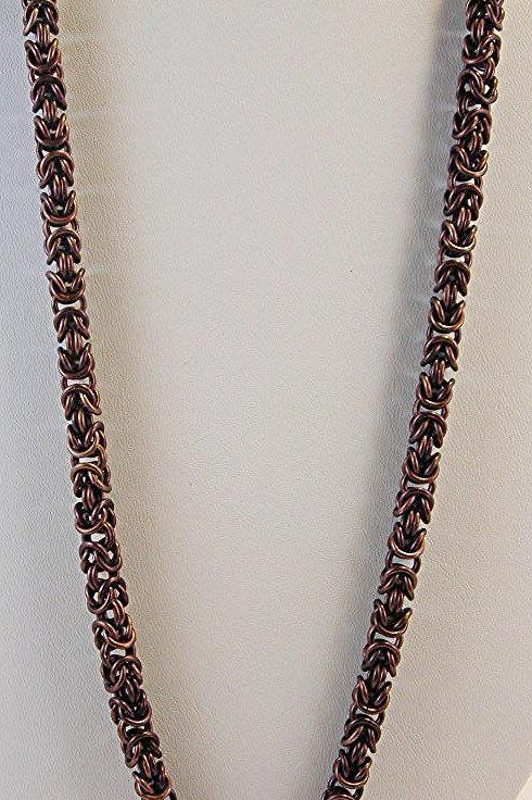 Byzantine Weave Necklace. Item #N292