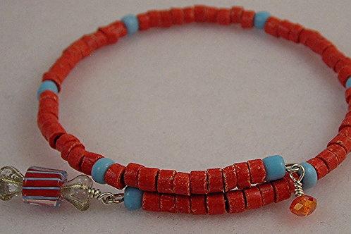Stone beads Bracelet & Earring Set. #B3598