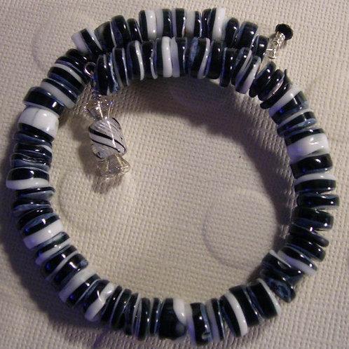 Black lip shell Bracelet & Earring Set