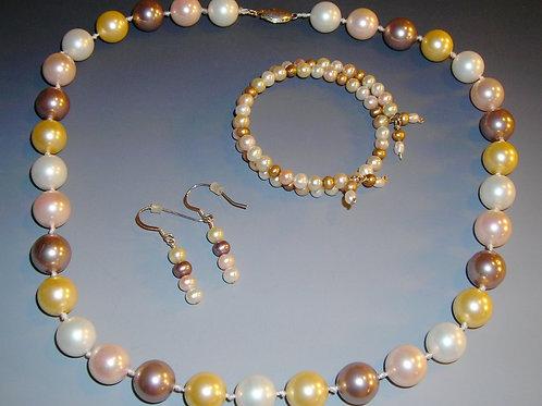 #SB2234 Necklace Bracelet and Earring Set