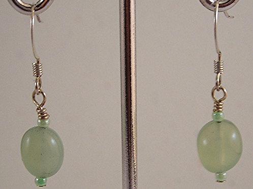 Jade Gemstone Earrings #E3672