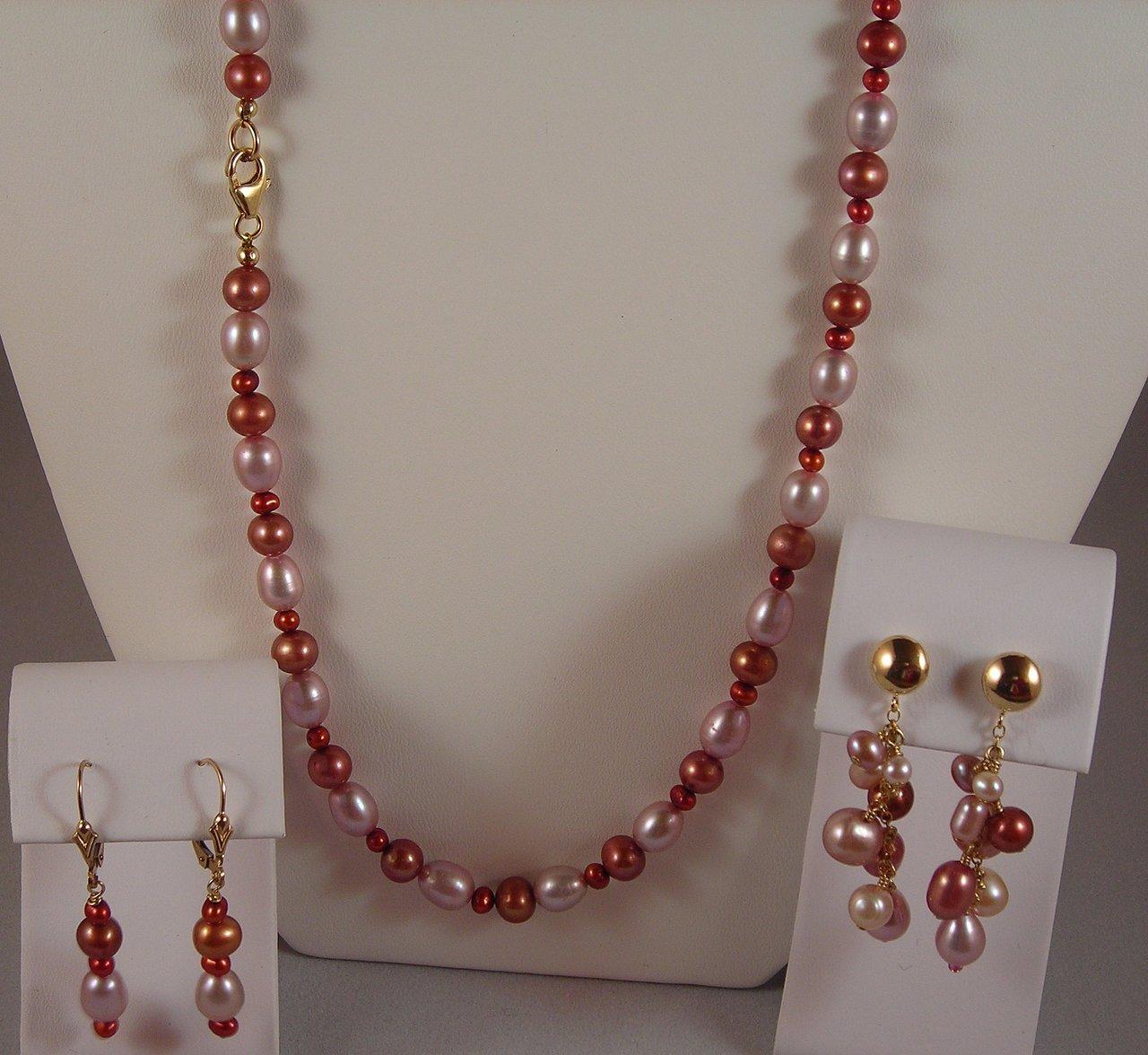 Freshwater Pearl Jewelry Set