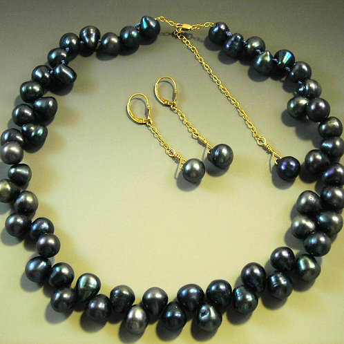 #S381. Necklace and Earring Set