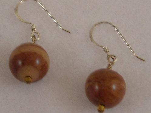 Agate Gemstone Earring