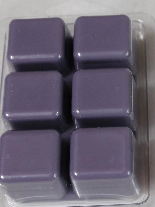 Lilac wax cubes