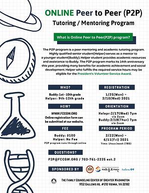 ONLINE Peer to Peer (P2P) spring 2021.jp