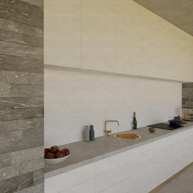 Design home Vals for moxVR kitchen