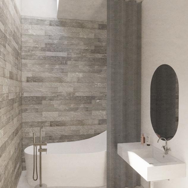 Design home Vals for moxVR bathroom