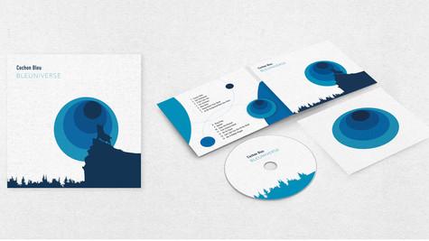 Ontwerp CD-hoes (digipack)