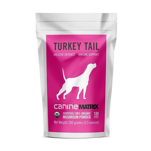 Canine Turkey Tail Matrix Powder 100g