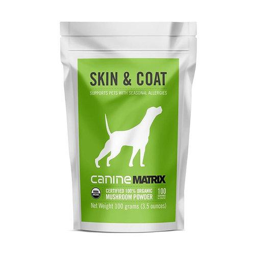 Canine Skin & Coat Matrix Powder 100g