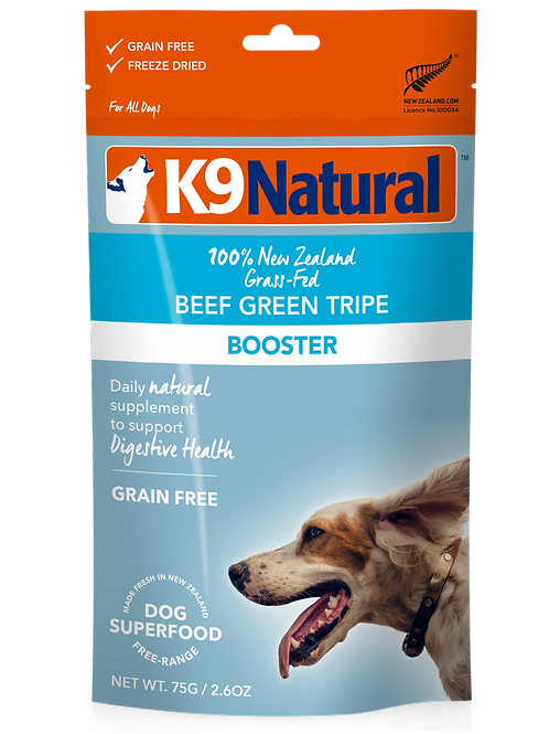 K9 Natural's Beef Tripe Topper 2.6oz
