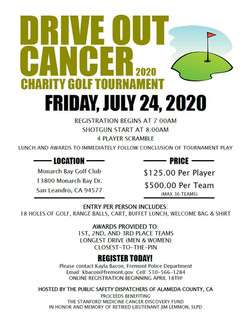 Drive Out Cancer Flier