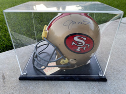 Joe Montana Signed Helmet