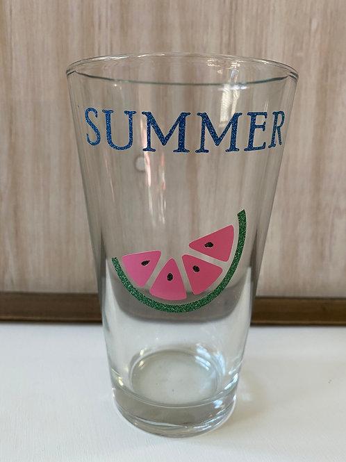 Watermelon Beer Glass