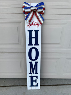 Welcome Home Porch Sign