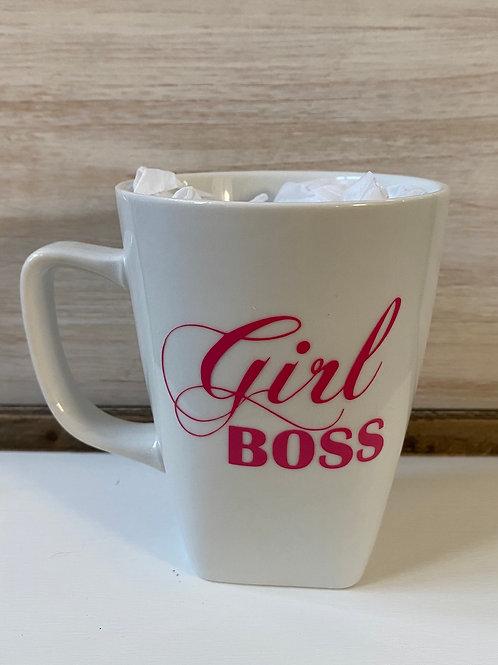 Girl Boss Coffee Cup