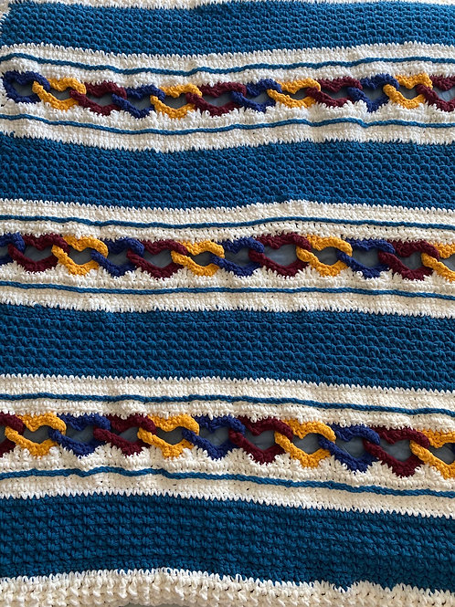 First Responder Afghan Blanket
