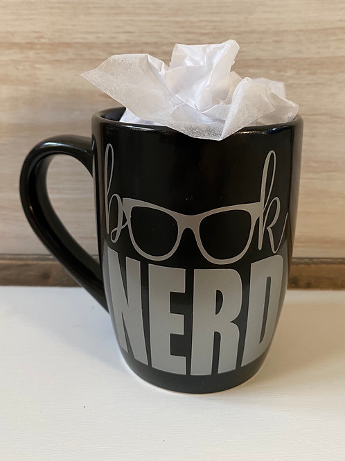 Book Nerd Coffee Cup